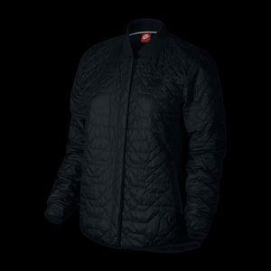 Nike quilted primaloft jacket M